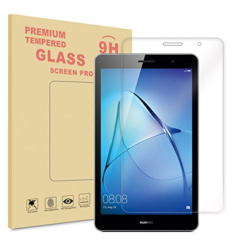 Infiland Huawei MediaPad T3 7 WiFi Bildschirmschutz, Glass Folie Schutzfolie Bildschirmschutzfolie für Huawei MediaPad T3 7(NOT for Huawei MediaPad T3 7 LTE!) (Tempered Glass)
