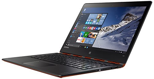 Lenovo Yoga 900 33,8 cm (13,3 Zoll QHD) Convertible Laptop (Intel Core i7-6500U, 16GB RAM, 512GB SSD, Intel HD Graphics 520, Windows 10) orange (Software Creo)