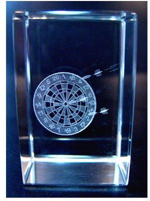 Preisvergleich Produktbild Kristall Quader Dart