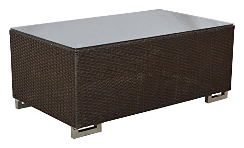 ArtisTree Rattan Centre Table (Brown)