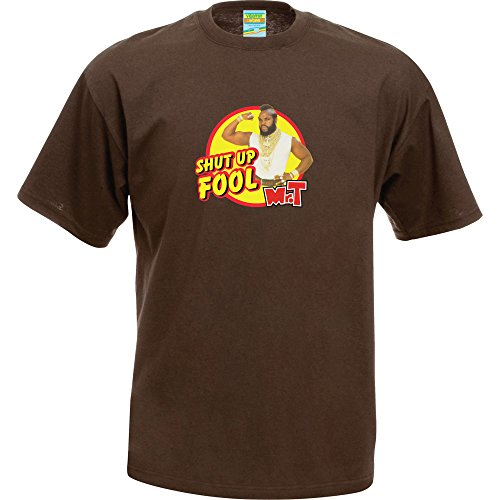 Mr T Shut Up Fool T-Shirt