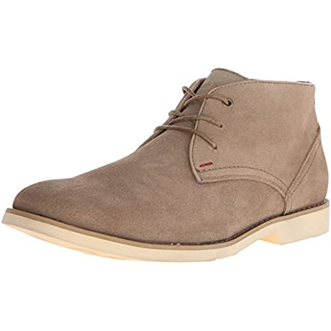 Hush Puppies Men's Graton EZ Chukka Boot, Taupe Suede, 10 M US