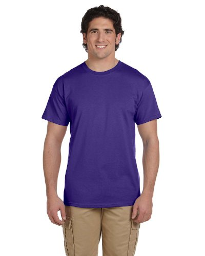 Fruit of the Loom T-Shirt Baumwolle, 3931 Violett - Violett