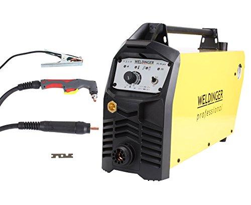 WELDINGER Plasmaschneider PS 45 mit Wartungseinheit 40 A Leistung bis 25 mm Schnitttiefe (Plasmaschneidgerät)
