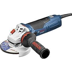 Bosch Professional Meuleuse Angulaire Filaire GWS 17-125 CIE (1700 W, Ø de Meule : 125 mm, Coffret)