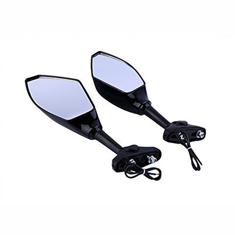 maistore Motorrad LED Turn Signal Light Rückfahrkamera Seite Spiegel für Honda für Yamaha ATV Motor Backup Spiegel Hot Verkauf
