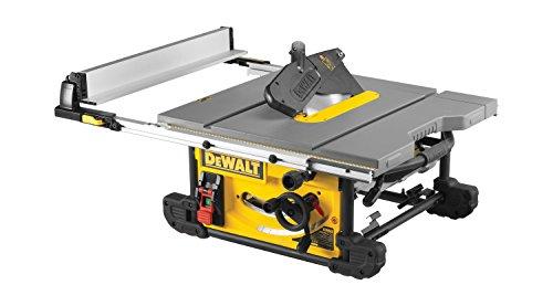 DeWalt Tischkreissäge DW745/ Leistungsstarke Säge mit Parallel- und Gehrungsanschlag für höchste Präzision / Tischkreissäge inkl. HM-Sägeblatt und Absaugreduzierung / 1850W - 5