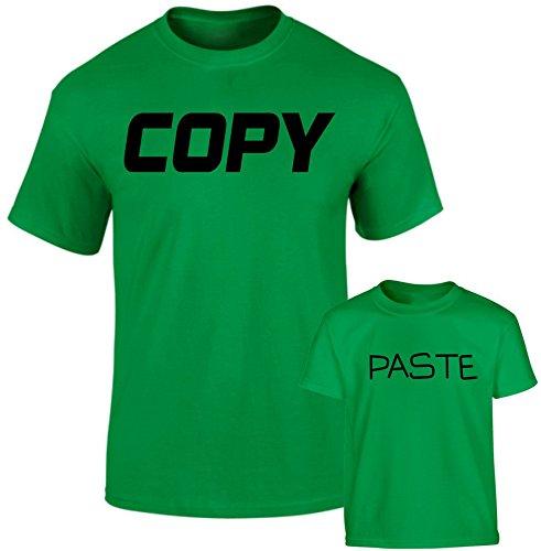 SuperPraise Daddy Daughter Dad Son Matching T Shirts Copy Paste Geek