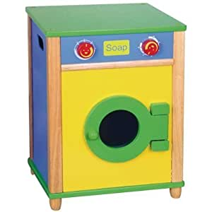 Cucina per bambini lavatrice di legno naturale for Cucina legno bambini amazon