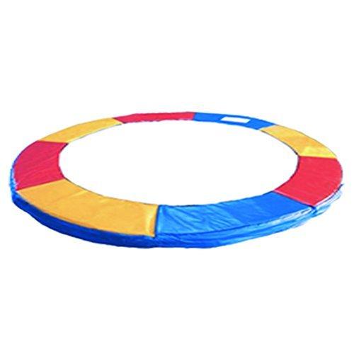 Greenbay Trampoline Remplacement coussin de protection pour trampoline 8FT 244cm Trois Couleurs