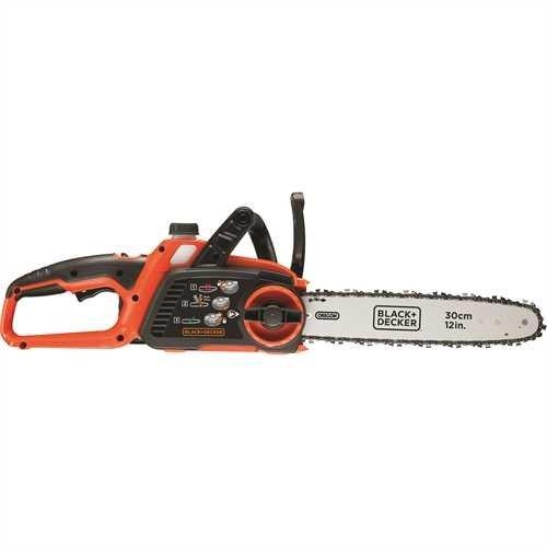 Black+Decker Li Ion Akku Kettensäge 36V GKC3630L20 mit Akku und Ladegerät/Ideal für Holz- & Gartenarbeiten/30 cm Schwertlänge - 3