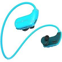 8 g impermeabile indossabili Sports cuffie auricolari MP3 player offline  Music Play Headset Outdoor allenamento nuoto 8e29c6e7ea9a
