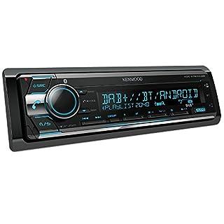 Kenwood KDC-X7200DAB Digitalautoradio mit Bluetooth-Freisprecheinrichtung und Apple iPod-Steuerung Schwarz