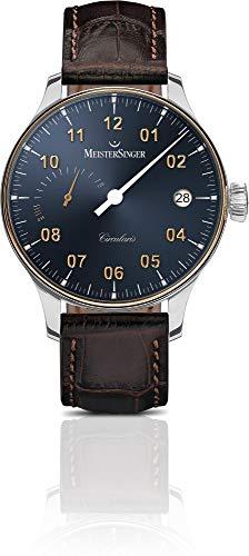 MeisterSinger CIRCULARIS POWER RESERVE CCP317GLG Elegante orologio da uomo Design senza tempo