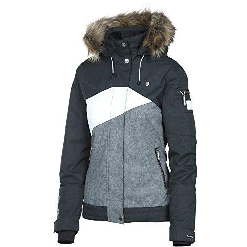 Rehall Damen Skijacke / Snowboardjacke 'Jessy-R' schwarz / weiss (910) L