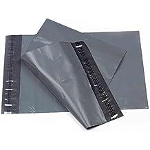 """20""""x 26"""" gris correo fuerte bolsas–Cinta autoadhesiva para bolsas de envío, Virgen Extra de plástico manejar, color gris"""