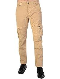 Pantalon Cargo Japan Rags Tom Camel Homme
