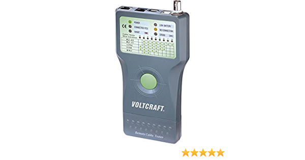 Voltcraft Ct 5 Cable Tester Cable Tester Baumarkt