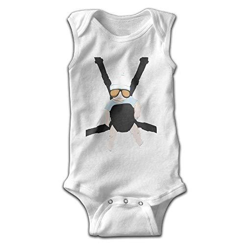 Unisex Infant Bodysuits Baby Carlos The Hangover Alan Boys Babysuit Sleeveless Jumpsuit Sunsuit Outfit White Baby Infant Bodysuit