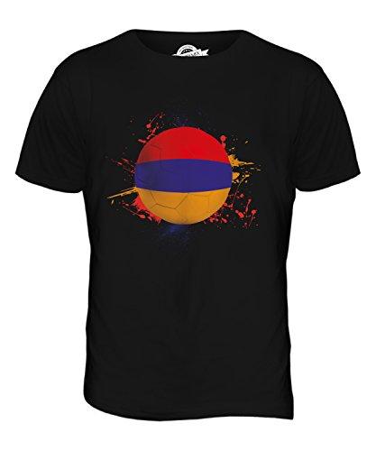 CandyMix Armenien Fußball Herren T Shirt Schwarz