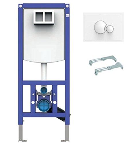 Sanit Set INEO PLUS 450 WC Vorwandelement mit Wandhalter und Betätigungsplatte