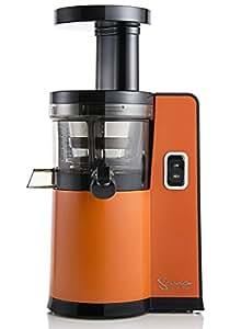 Sana by omega 808 extracteur de jus vertical orange cuisine maison - Extracteur de jus amazon ...