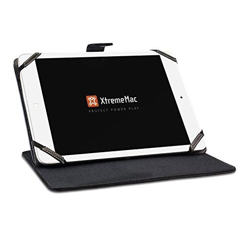 XtremeMac Universal Schutzhülle für 7-8 Zoll-Tablets, Schwarz Xtrememac Thin Folio