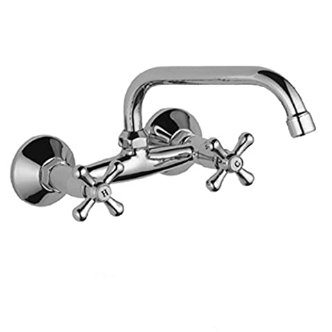 Long Tou simples européens de cuisine robinet Double-screw Double-hand rond de cuisine robinet de cuisine simple robinet
