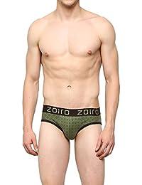 ZOIRO MEN'S COTTON PRINTED BRIEF - PACK OF 3 - ASSAD MUTLICOLOURS