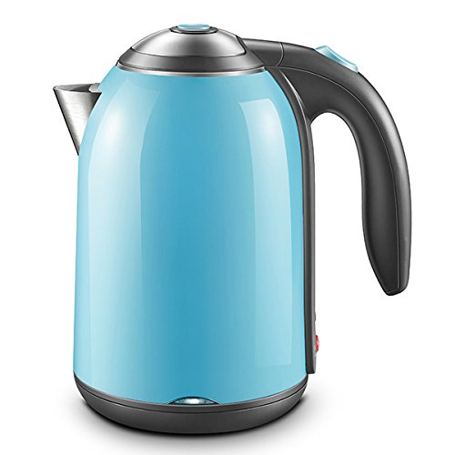 ZHX Wasserkocher Automatische Abschaltung Haushalt kochendes Wasser Isolierung Ein Topf Kapazität: 1.7L,Traumblau,Wasserkocher (Wasser Topf Für Kochendes)