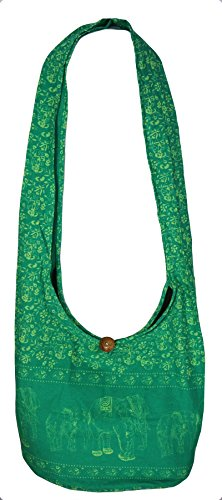 Rosina , Damen Umhängetasche L, grün - F Mint - Größe: L (Fleece Athletic Shorts)