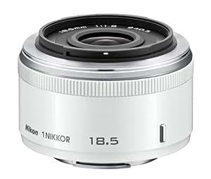 Nikon 1 NIKKOR 18.5mm f/1.8 Lens - White