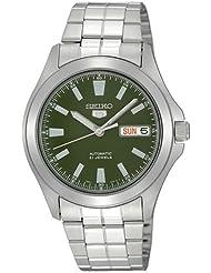 Seiko Herren-Armbanduhr XL Analog Automatik Edelstahl SNKL05
