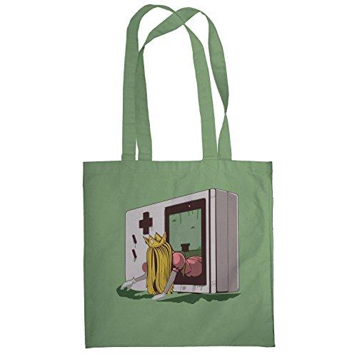 Texlab–The Princess–sacchetto di stoffa Oliva