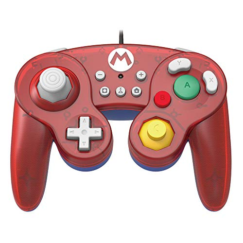 HORI Nintendo Switch Battle Pad (Mario) Controller im GameCube-Stil [ ]