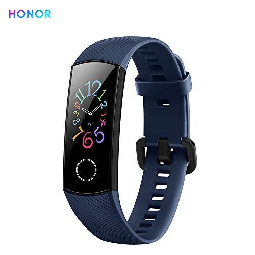 Honor Band 5 Reloj Inteligente 0.95' Gran Pantalla a Todo Color AMOLED Fitness Pulsera Inteligente Monitoreo Inteligente 5ATM a Prueba de Agua