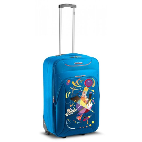 TROLLEY MEDIO RONCATO CIAK UP FUN - 2 RUOTE - ESPANDIBILE (FRENCH BLUE)