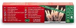 Konstsmide 6300-103 LED Minilichterkette / für Innen (IP20)  230V Innen / 10 warm weiße Dioden / transparentes Kabel