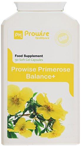 Amazon Aceite de prímula de noche de Prowise 1000mg 90 cápsulas - Apoya niveles equilibrados de la hormona, salud menstrual en las mujeres - Reino Unido manufacturado a GMP Calidad garantizada