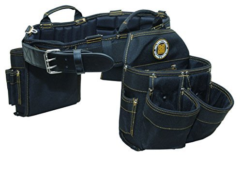 Rack-A-Tiers 43243 Electrician's Combo Belt & Bags - Large, 35-39 by Rack-A-Tiers