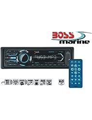 Boss Marine Radio MR1308UAB Schwarz