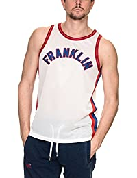 Franklin & Marshall Men's Top Uni Tank Top