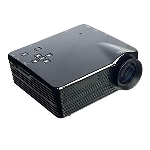 XWEM Heimprojektor, Tragbarer Mini-Projektor 1080P HD-Videoprojektor Für Home Entertainment, Partys Und Spiele