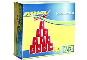 VEDES Großhandel GmbH - Ware 72305001Outdoor Active Lata lanzar 13Piezas, Multicolor