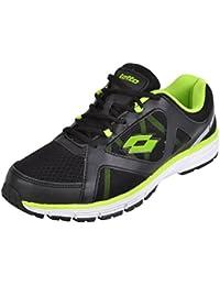 Lotto Men's Black Running Shoes - 10 UK