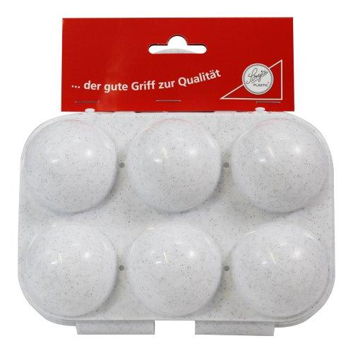 Eierträger 6-fach in granit-weiß preisvergleich