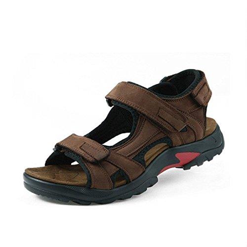 Sandales échassiers En Plein Air Chaussures De Plage Pour Hommes Multicolore Multi-taille Brown