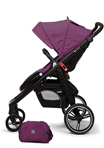 CASUALPLAY SILLA DE PASEO LOOP BLACK COLOR LAPIS PLUM