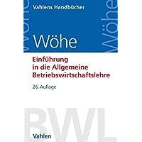 Günter Wöhe (Autor), Ulrich Döring (Autor), Gerrit Brösel (Autor) (1)Neu kaufen:   EUR 32,90 40 Angebote ab EUR 23,99