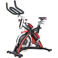 Lcyy-Bike Entrenadores De Bicicleta Resistencia Magnética 18 Kg Volante Cardio Entrenamiento Ajustable Manillares Y